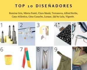 TOP 10 Diseñadores